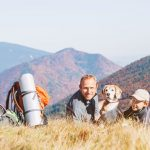 Camping and hiking with your dog